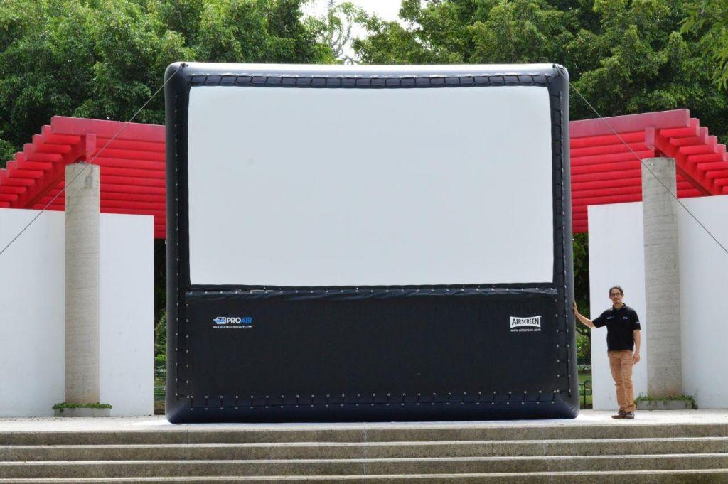AIRSCREEN® Pantalla Inflable de 5m
