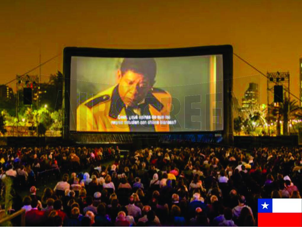 PROAIR - Pantallas Inflables | Cine al aire libre AIRSCREEN® | Chile