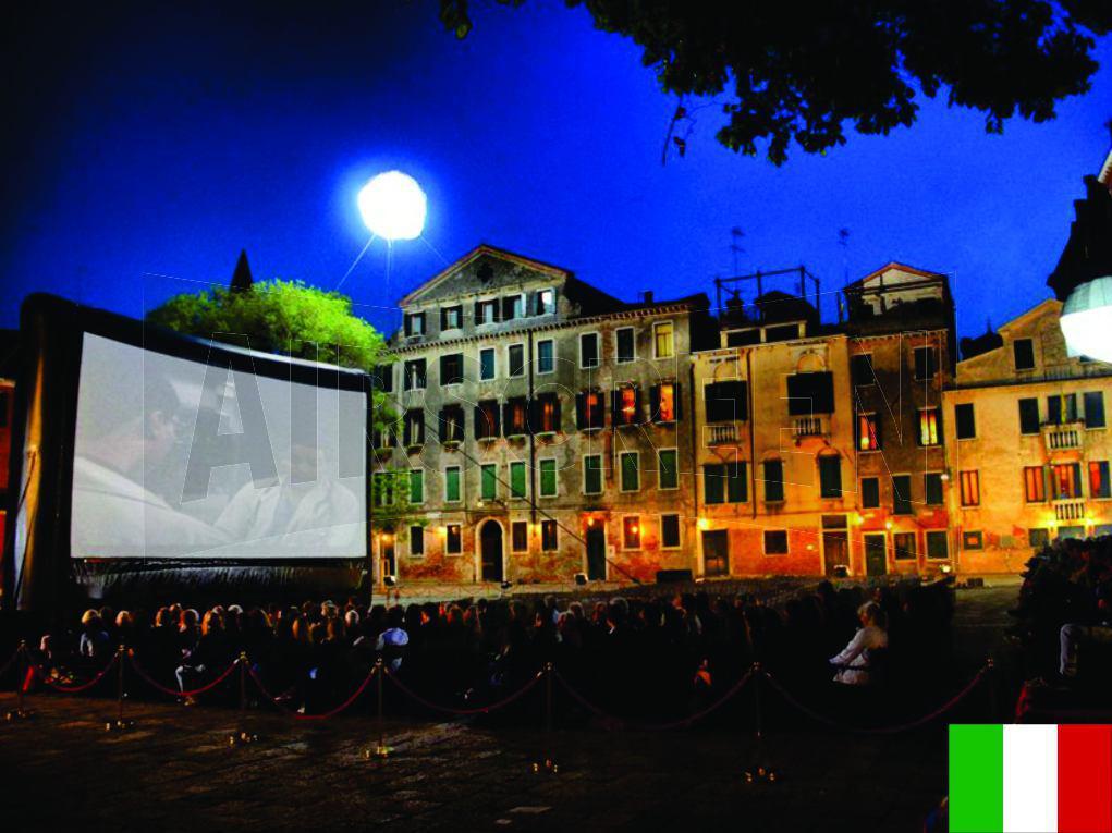 PROAIR - Pantallas Inflables | Cine al aire libre AIRSCREEN® | Italia