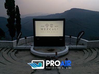 Pantallas Inflables PROAir - Equipo de Cine Profesional