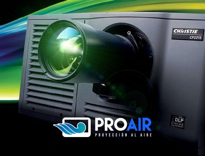 Servicio Audiovisual PROAIR